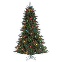 Sterling 7.5-Foot Pre-Lit Reno Pine Christmas Tree