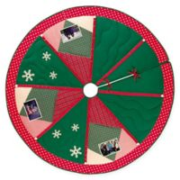C&F Home Christmas Memories Quilted Tree Skirt