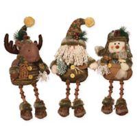Gerson 3-Piece Shelf Sitter Plush Figurines