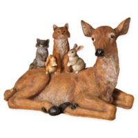 Gerson Resin Laying Deer Figurine