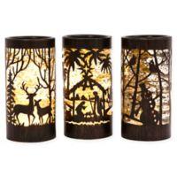 Gerson Water Globe Lanterns (Set of 3)