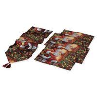 Gerson 5-Piece Santa Table Set
