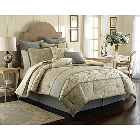 Laura Ashley Berkley Comforter Set Bed Bath Beyond
