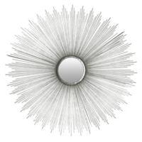 Safavieh Sunburst Mirror in Silver