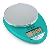 Ozeri® Pro Digital Kitchen Scale in Teal