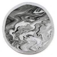 Thirstystone® Round Marble-Look Iron Coasters (Set of 4)