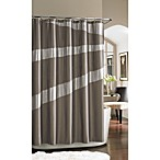 Nicole Miller Tangent 72  x 72  Fabric Shower Curtain