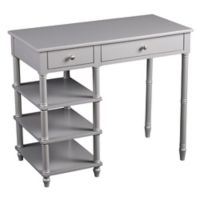 Southern Enterprises Marley Desk in Grey