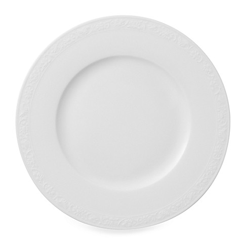 Villeroy & Boch White Pearl 8 1/2-Inch Salad Plate