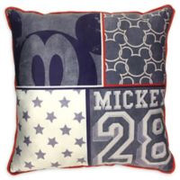 Disney® Mickey Mouse Americana Square Throw Pillow