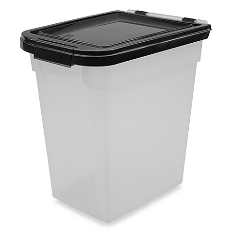 buy iris usa airtight 10 pound pet food storage container from bed bath beyond. Black Bedroom Furniture Sets. Home Design Ideas