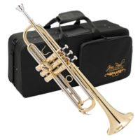 Jean Paul Student Trumpet with Case in Gold