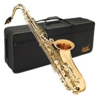 Jean Paul Student Tenor Saxophone with Case in Gold