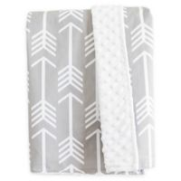 Bambella Designs Arrows Stroller Blanket in Grey