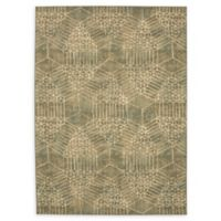 Karastan Ciranda by Virginia Langley 5'3 x 7'10 Area Rug in Charcoal