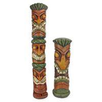 Design Toscano Aloha Hawaii Tiki Sculptures (Set of 2)