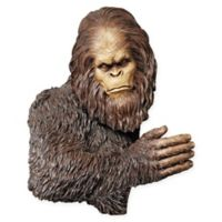 Design Toscano Bigfoot The Bashful Yeti Tree Sculpture Statue
