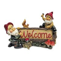 Design Toscano Greetings from the Garden Gnomes Welcome Statue