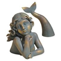 Design Toscano Merissa Mermaid Garden Statue in Verdigris
