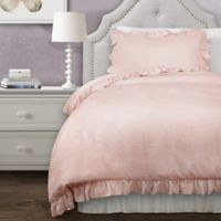Lush Decor Reyna 2-Piece Twin XL Comforter Set in Blush