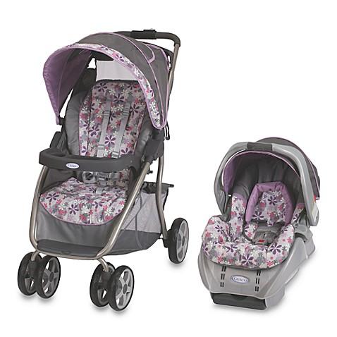 Purple Butterfly Infant Car Seat