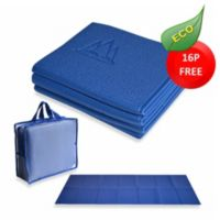YoFoMat™ Thick Yoga Mat in Blue