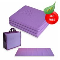 YoFoMat™ Thick Yoga Mat in Purple