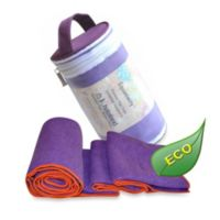 Equanimity Yoga Towel in Purple
