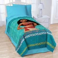 Disney® Moana The Wave Twin Blanket in Blue
