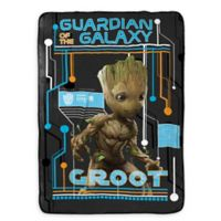 Marvel® Guardians of the Galaxy Groot Twin Blanket in Black/Blue