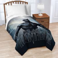 Marvel® Black Panther Tribe Twin Blanket in Blue