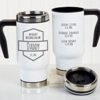 Greatest Blessings Call Me 14 oz. Travel Mug