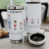 Character Collection 14 oz. Travel Mug