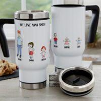 Character Collection 14 oz. Travel Mug