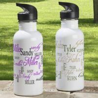 Signature Style 20 oz. Water Bottle