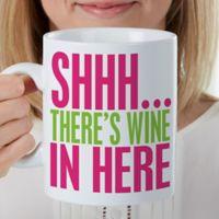 Funny Morning Quote 30 oz. Oversized Coffee Mug
