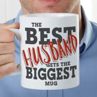 The Best Husband 30 oz. Oversized Coffee Mug