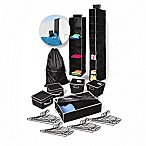 Back To College 30-Piece Storage Bundle Set in Black