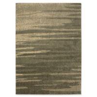 Karastan Fervor 5' x 8' Woven Shag Area Rug in Grey