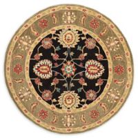Safavieh Melania 6' Round Area Rug in Black