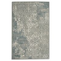Karastan Ayr 6'6 x 9'6 Area Rug in Willow Grey