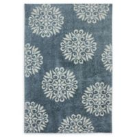 Mohawk Homes Exploded Medallions 10' x 14' Area Rug in Blue