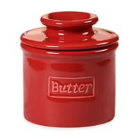 Butter Bell® Retro Crock in Maraschino Red