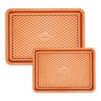 Copper Chef™ Diamond Bakeware 2-Piece Nonstick Cookie Sheet Set