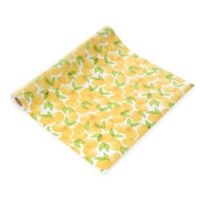 Con-Tact® Grip Prints Non-Adhesive Shelf Liner in Lemon Grove