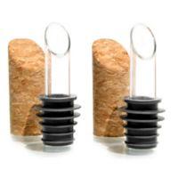 Pourist 2-Piece Dripless Spout & Stopper Set