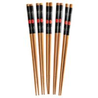Helen's Asian Kitchen® 5-Pair Bamboo Sushi Chopsticks Set