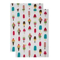 MU Kitchen™ Cool Treats Designer Print Kitchen Towels (Set of 2)