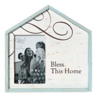 "Precious Moments® ""Bless This Home"" 4-Inch x 6-Inch Picture Frame"