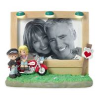 Precious Moments® Motorcycle Couple 4-Inch x 6-Inch Picture Frame